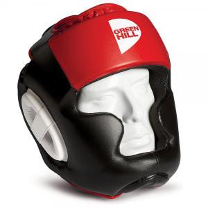 Боксерский шлем gh poise, Черный-красный Green Hill