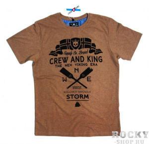 Футболка Together Trough The Storm - Вместе Сквозь Шторм CrewandKing