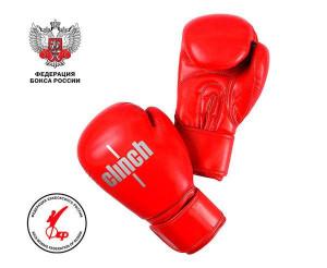 Перчатки боксерские Clinch Olimp Plus красные, 12 унций Clinch Gear
