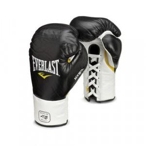 Перчатки боксерские Everlast боевые MX Pro Fight., 8 OZ Everlast