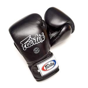 Перчатки тренировочные на липучке Fairtex, 10oz Fairtex